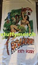 KATY PERRY RARE Prismatic World Tour VIP Roar Cartoon Beach Towel WITNESS