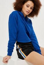 TOPSHOP Rainbow Striped Running Shorts Size UK 6 BNWT