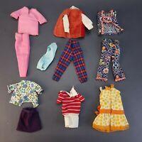 Authentic Vintage Barbie 1960's Doll Clothes Dresses Blouses Skirts Lot