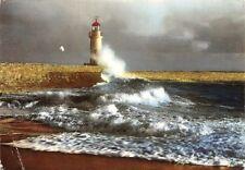 CPM - Isla D' Olerón - Faro de postal- la Cotinière por mar gruesa tiempo
