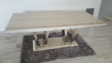 Marble Dining Table, Brand New, Beige Colour