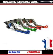 paire de  levier flip-up foldable repliable titanium Bmw S1000RR / HP4 2010-2014