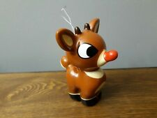"""Character Arts Rudolph The Red-Nosed Reindeer Christmas Ornament 4 1/2"""" Mint"""