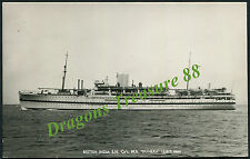 M.S. DUNERA, Postcard, British Troopship & Educational Cruise ship, 1937 - 1967