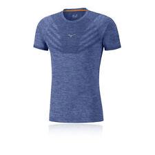 Maglie e top da uomo blu in poliestere per palestra, fitness, corsa e yoga taglia M