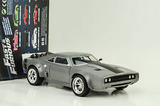 Dom`s Ice Dodge Charger Fast and & Furious 8 silber 1:24 Jada