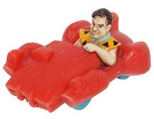 """FRED'S RED CAR 2"""" VEHICLE - FROM FLINTSTONES MOVIE PROMO TOY USED 1994"""