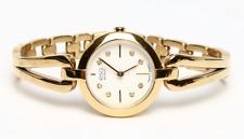 ESQ Movado Corbel Gold Stainless Steel Bracelet Ladies Watch 0204