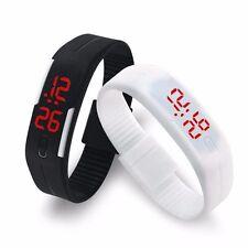 LED Watch Ultra Light Unisex Digital Gym Running Sports Watch For Kids Men Women