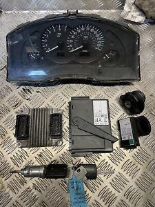 Vauxhall Meriva 1.6 Petrol Complete Ecu Kit See Photos For Part Numbers