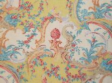 Osborne & Little BERGERIES Fabric 9 Yards Vintage 1980s Flowers Scrolls Birds