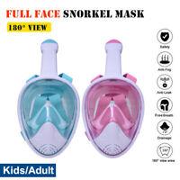 Masque de masque complet tuba masque et tuba masque de plongée pour lunettes de