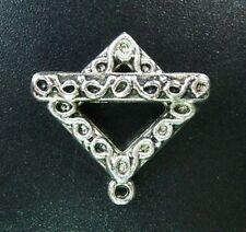 10 Sets Tibetan Silver Ornate Square Toggle Clasp T5017