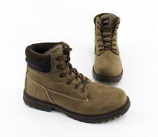 Stiefeletten Carrera Work Boots Kunstleder Textil braun Gr. 43