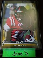 2019 Leaf Draft Rookie D.K. Metcalf Seattle Seahawks Gold