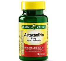 Spring Valley Astaxanthin for Heart & Eye Health 4mg  30ea