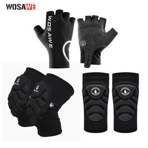 Adult Proetctive Gear Elbow Brace Knee Pads Gloves for Cycling Ski Skating Safe