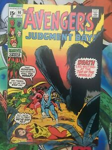 Avengers #90 F/VF RONAN appearance Buscema art