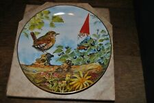 Rien Poortvliet Gnomes Four Seasons Plate Berry Pickers