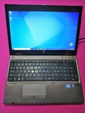FAST! HP Probook 6570b laptop Intel I5-3360m 2.8-3.5ghz 6GB ram 120GB hdd W10