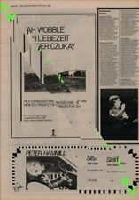 Jah Wobble Jaki Liebezeit Holger Czukay Can PIL Advert NME Cutting 1981