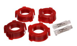 Energy Suspension For 54-68 Beetle Spring Plate Bushing Set Red Rear - 15.2108R