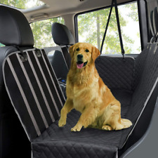 Dog Car Seat Covers Waterproof Scratch Proof Pet Cover for Back w/ Side Flaps