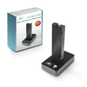 Vantec NexStar SX, USB 3.1 Gen 2 Type C M.2 NVMe SSD Dock