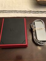 Nintendo Wii Mini Console Only Red Black RVL-201(USA) W/ power cord TESTED!!