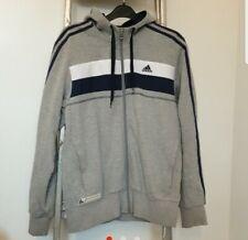 Adidas Grey Zip Hoodie size S