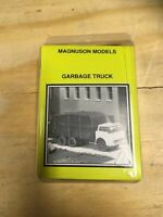 RARE MAGNUSON MODELS GARBAGE TRUCK HO SCALE BOXED
