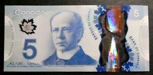 CANADA 2013- $5 : Wilkins / Macklem : INF Series, Serial Numbers at random