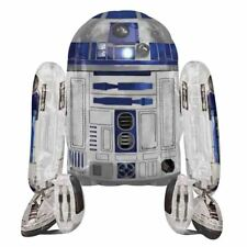 "STAR Wars R2D2 38"" Airwalker Foil Balloon Regalo Ideale Festa Di Compleanno Decorazione"