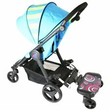 Baby Travel Segboard Stroller Black Ride on Buggy for Mamas & Papas Solo Swirl