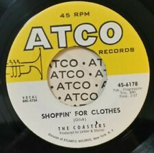 Coasters Atco 6178 Shoppin' For Clothes (Great Rock N Roll 45) Plays Vg+
