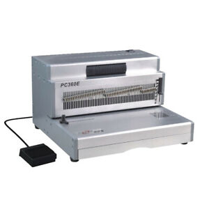 "PC360E 14"" Electric Coil Binding Machine Heavy Duty"