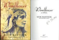 Nick Bantock SIGNED AUTOGRAPHED Windflower *RARE* HC 1st Ed/1st Griffin & Sabine