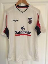 2006/2007 England training football shirt medium mens Three Lions Umbro