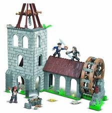 Mega Bloks Pirates Of The Caribbean 1027 Water Wheel Duel