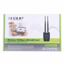 EDUP ANTENNA WIRELESS WIFI 150Mbps 2.4Ghz 6dbi LAN USB ALTA POTENZA COMPUTER