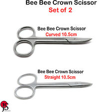 Dental Orthodontic Surgical Instrument Bee Bee Crown Wire Cutting Scissors X2 CE