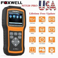 FOXWELL NT520 Pro For BMW MINI OBD2 Diagnostic tool ABS Airbag Automotive Scan