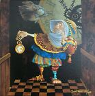 Tempus Fugit- James Christensen signed and numbered/ canvas