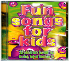 Fun Songs for Kids CD  children's nursery songs & rhymes *NEW & WRAPPED*