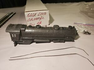 Lionel Pre War O27 # 1666E Diecast GM Shell Good Shape For Parts And Restore