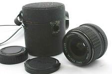 ::Near Mint:: SMC Pentax 28mm F3.5 MF Wide Angle Lens w/case from Japan #0163