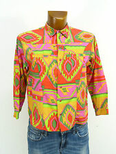 OILILY BLUSE GR.XS / MIT MUSTER & MODERN + TREND  ( J 6111 N)