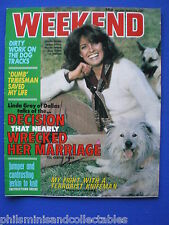 Weekend Magazine - Linda Gray, James Cagney     2nd Apr 1980