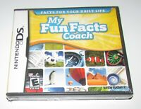 My Fun Facts Coach for Nintendo DS Brand New! Fast Shipping!