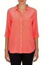 Country Road Long Sleeve 100% Silk Tops for Women